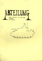 Abteilung - WWII Battle Rules for 15mm Figures & Models (1st Printing)