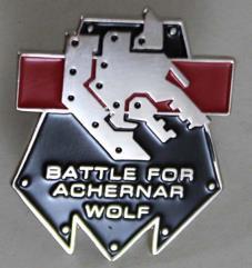 Battle for Achernar Pin - Wolf
