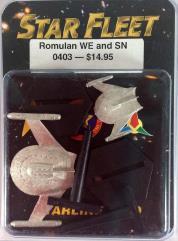 Romulan Warbird and Snipe