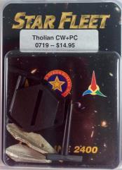 Tholian War Cruiser and Corvette