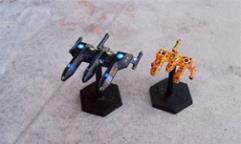Lyran War Cruiser & War Destroyer