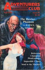 "#5 ""The Hawkes Phantom - Justice, Inc. Adventure, Impossible Crimes"""
