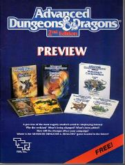 AD&D 2nd Edition Preview