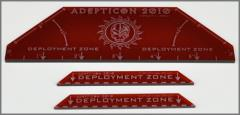 Adepticon 2010 Deployment Zone Templates (Red)