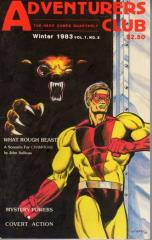 "#2 ""What Rough Beast! - Champions Scenario, Mystery Powers, Covert Action"""