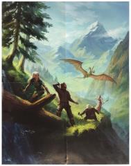 Adventuria Almanac Promo Poster