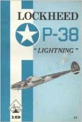 "Aero Series #19 - Lockheed P-38 ""Lightning"""
