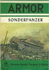 Armor Series #9 - Sonderpanzer, German Special Purpose Vehicles