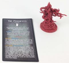 Asenath Waite 1st Player Marker w/Prophetess Card (Kickstarter Exclusive)