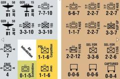 Afrika Korps - Variant and Replacement Counters