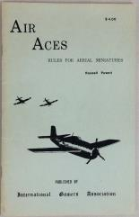 Air Aces - Rules for Aerial Miniatures