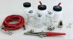 Single Action Airbrush Starter Collection