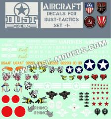 Aircraft Decals (10)