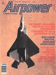 "Vol. 21 #2 ""After Midnight, 21st Centry Fly-Off, Lockheed YF-22"""