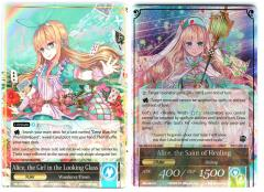 Alice, the Saint of Healing/Alice, the Girl in the Looking Glass (R) (Foil)