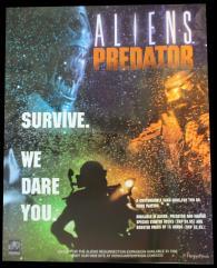 Aliens vs. Predator CCG Promo Poster/Playmat