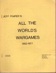Special Issue - All the World's Wargames 1953-1977