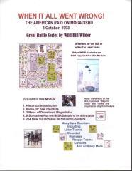When it all Went Wrong! - The American Raid on Mogadishu