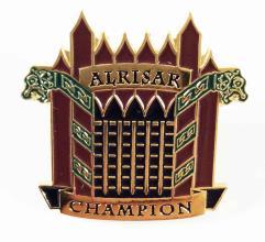 Alrisar Champion Pin