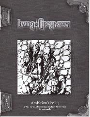 Living Greyhawk RPGA - Ambition's Folly