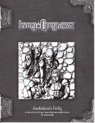 Living Greyhawk RPGA - Ambition's Folly