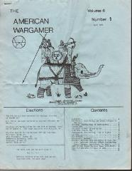 "Vol. 6, #9 ""Game Design for Grand Tactical Games, Priests of GOW, AD&D Class"""
