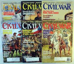 America's Civil War Magazine Collection - 6 Issues!