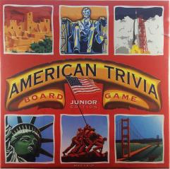 American Trivia Board Game - Junior Edition