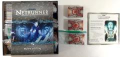 Android Netrunner Collection #7 - Base Game + Expansion & 8 Data Packs!