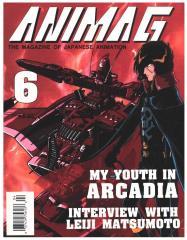 """#6 """"My Youth in Arcadia, Leiji Matsumoto, Dangaio"""""""
