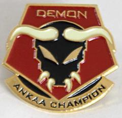 Champion of Ankaa Pin - Demon