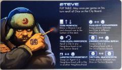 Dicetopia Promo Faction Card - Steve