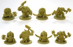 Alternate Orc Sculpts (Kickstarter Exclusive)