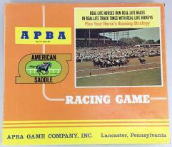 APBA American Saddle Racing Game (1984 Season)
