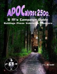 APOCalypse 2500 - GM's Campaign Guide