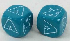 Hero Dice - Aquaman/Black Manta, Teal