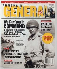 "Vol. 1, #1 ""Patton, Future Warfare, Bonus Game - Operation Iraqi Freedom"""