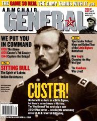 """Vol. 1, #6 """"The Alamo, Custer's 7th Cavalry, Capture the Bridge!"""""""