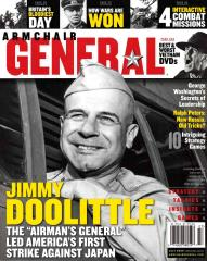"""Vol. 3, #3 """"How Wars Are Won, Pacific Batle Casaulties and the MacArthur Myth, Jimmy Doolittle's Extraordinary Life"""""""