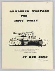 Armoured Warfare for 1/200 Scale