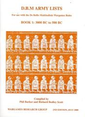 DBM Army Lists #1 - 3000 BC to 500 BC (2nd Edition)
