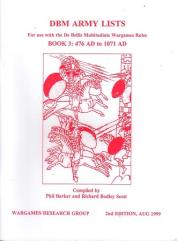 DBM Army Lists #3 - 476 AD to 1071 AD (2nd Edition)
