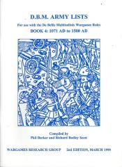 DBM Army Lists #4 - 1071 AD to 1500 AD (2nd Edition)