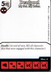 Deadpool Promo - Deadpool - My Set. My Rules. (Artless)