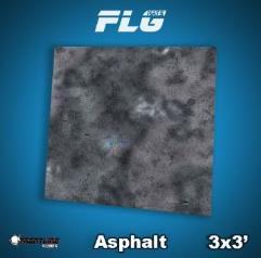 3' x 3' - Asphalt