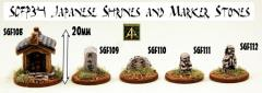 Japanese Shrines and Marker Stones