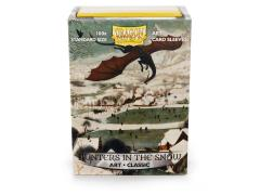 Board Game Card Sleeves - Hunters in the Snow (100)