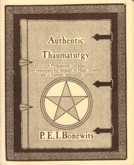 Authentic Thaumaturgy (2nd Printing)