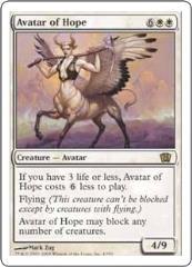 Avatar of Hope (R) (Foil) (x4)