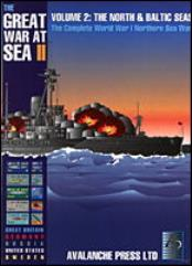 Great War at Sea #2 - The North & Baltic Seas (1st Printing, Thin Box)
